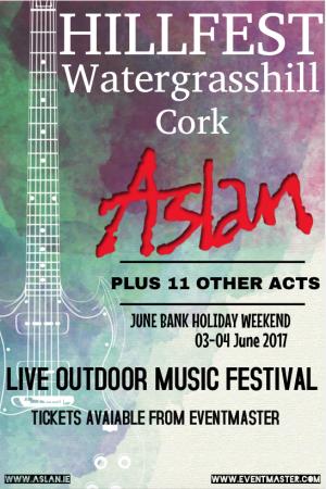Aslan Hillfest Cork