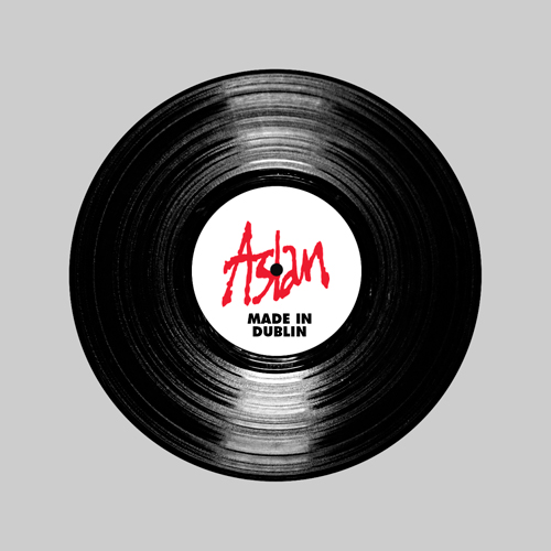 now available made in dublin vinyl release aslan